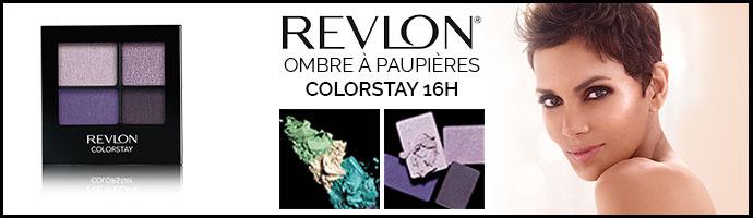 REVLON OMBRE A PAUPIERES COLORTAY 16H