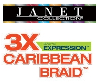 3X AFRO TWIST BRAID de Janet
