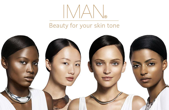 IMAN, Beauty for your skin tone