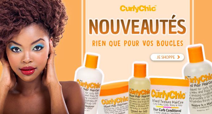 Nouvelle marque cheveux bouclées CURLY CHIC