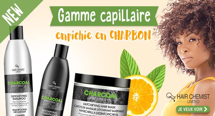 Dr Chemist gamme capillaire enrichie au Charbon