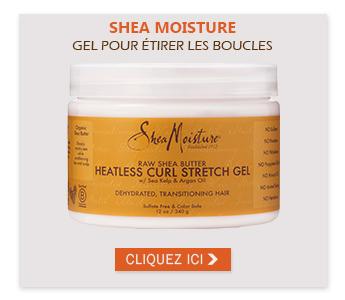 SHEA MOISTURE - GEL POUR ÉTIRER LES BOUCLES RAW SHEA BUTTER 340G (CURL STRETCH)