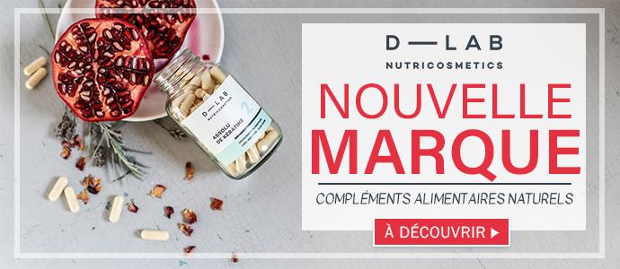 Nouvelle marque de compléments alimentaires D-LAB nutricosmetics >