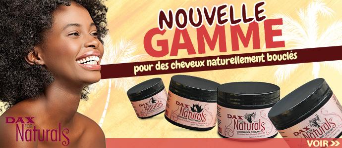 Nouvelle gamme pour cheveux bouclés de la marque DAX >>>