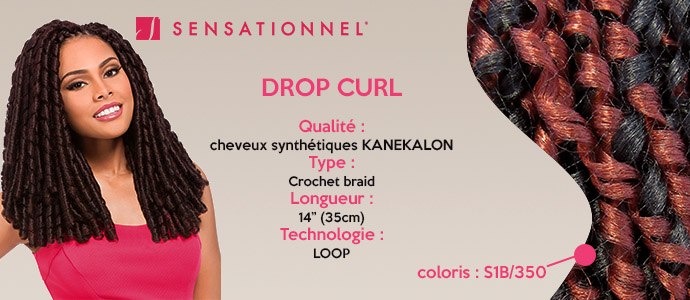 SENSATIONNEL, drop curl
