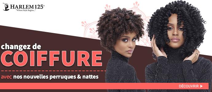 Nouvelles coiffures HARLEM 125