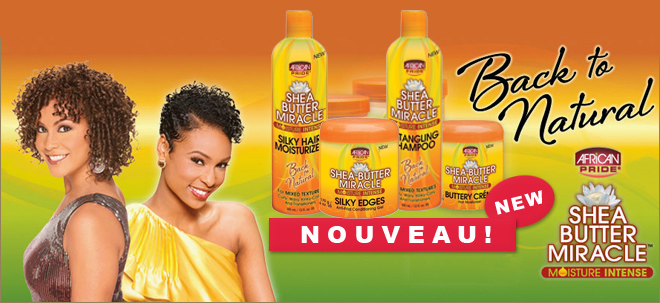 African Pride produit capillaire nappy