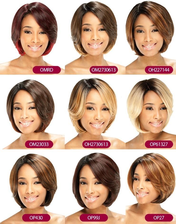 Différents coloris de la Perruque ASHLY de la marque Equal