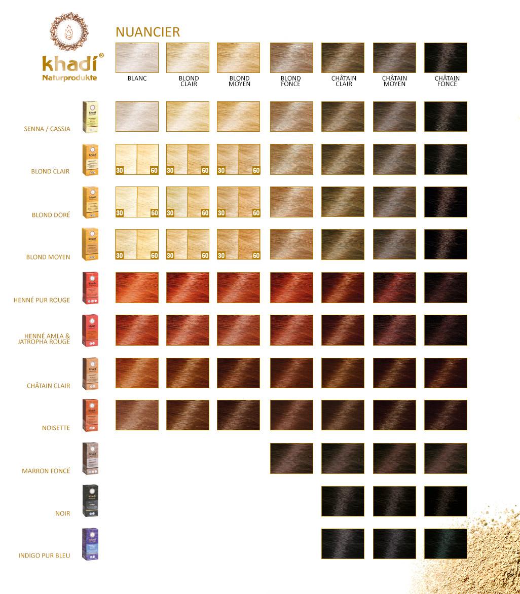 Nuancier De Blond Fashion Designs