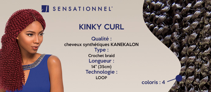 SENSATIONNEL, kinky curl