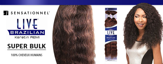 SENSATIONNEL LIVE BRAZILIAN REMY SUPER BULK