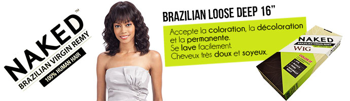 BRAZILIAN LOOSE DEEP NAKED