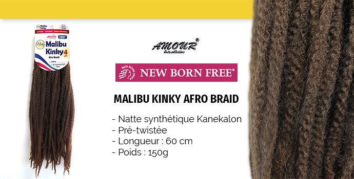 NEW BORN FREE NATTE NATTY MALIBU KINKY 4X