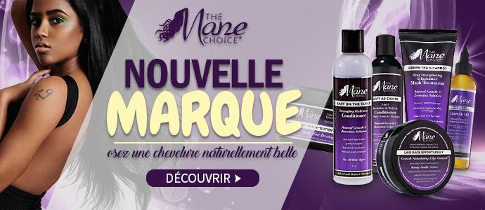 Nouvelle marque MANE CHOICE pour prendre soin de vos cheveux >>>
