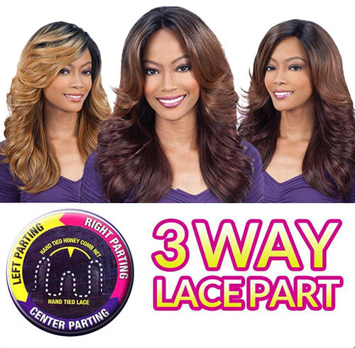 EQUAL PERRUQUE MARVEL 3 WAY LACE PART