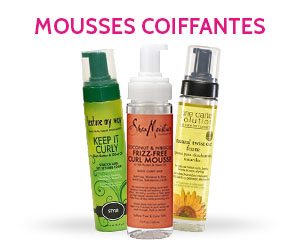 MOUSSES COIFFANTES NAPPY