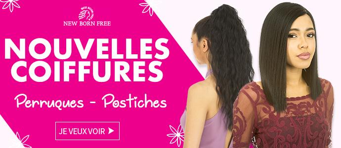 Nouvelles Coiffures NEW BORN FREE Décembre 2017