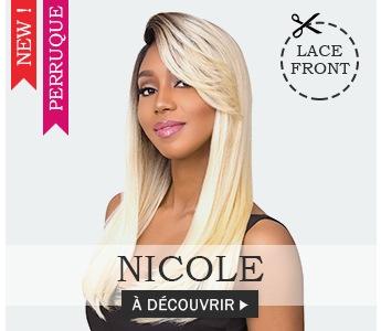 Nouvelle perruque Blonde NICOLE à découvrir >
