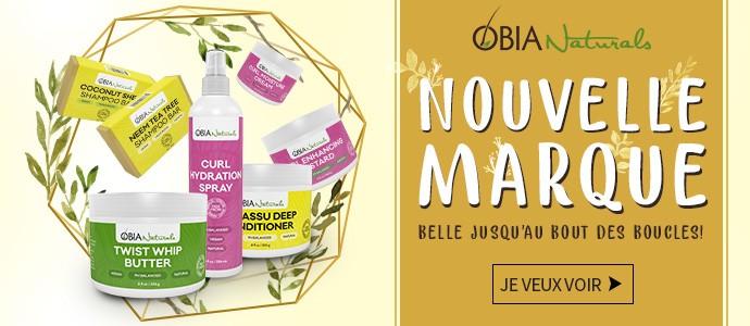 Nouvelle marque OBIA NATURALS >>>