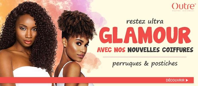 Nouvelles coiffures glamour de la marque OUTRE, cliquez ici