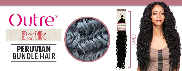 BATIK PERUVIAN BUNDLE HAIR OUTRE