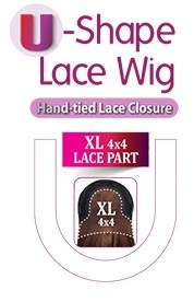 U SHAPE LACE WIG
