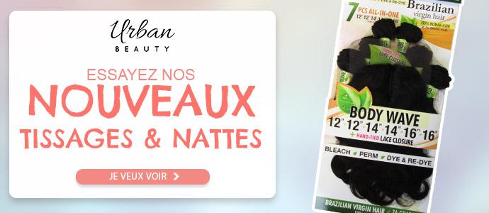 Nouveaux tissages brésiliens et natte de la marque URBAN