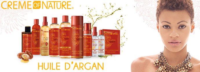 CREME OF NATURE, huile d'argan