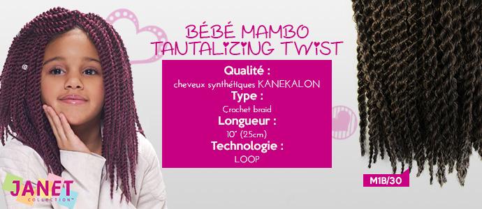 "JANET, Bebe Mambo tantalizing 10"""