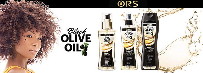 ORS, black olive oil