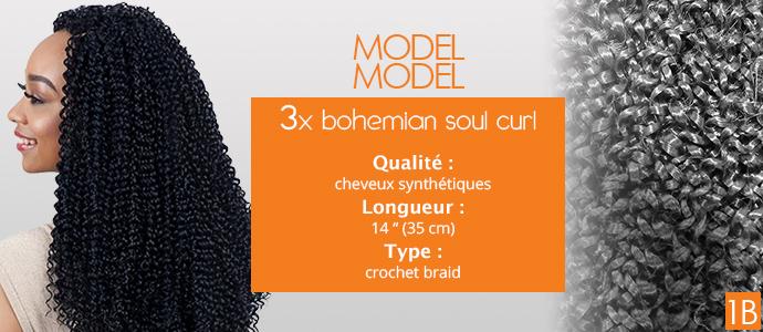 """MODEL MODEL, 3x bohemian soul curl 14"""""""