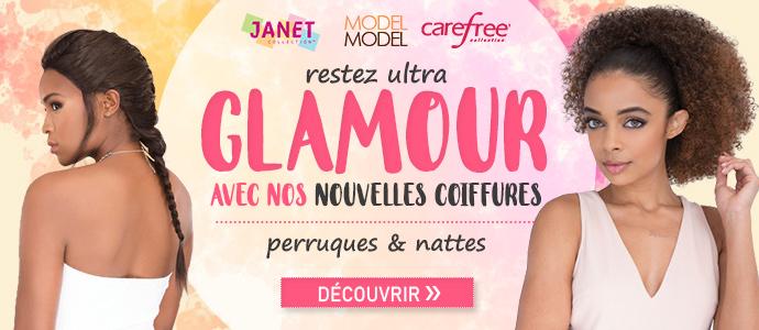 Nouvelles coiffures Janet, Model Model et Carefree >>>
