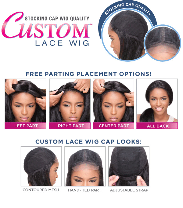 SENSATIONNEL - Custom lace wig