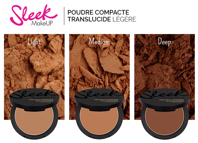 SLEEK MAKE UP POUDRE COMPACTE