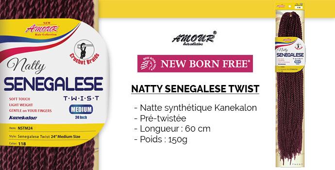 NEW BORN FREE SENEGALESE TWIST
