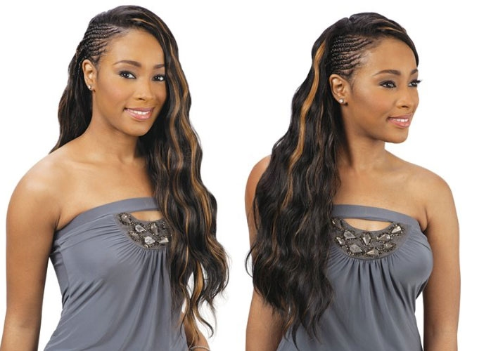 Natte Freetress Gentle Wave Braid