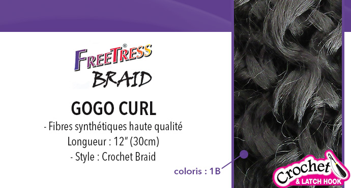 FREETRESS natte GOGO CURL