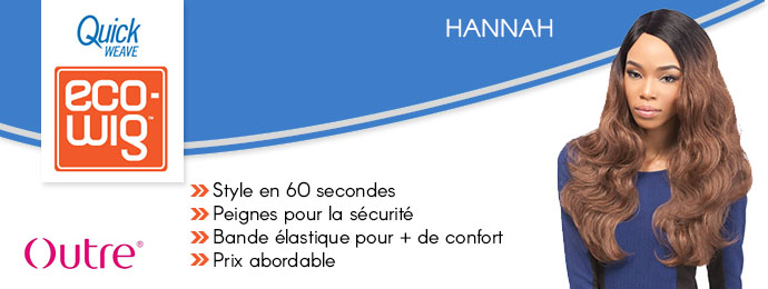 OUTRE ECO-WIG PERRUQUE HANNAH