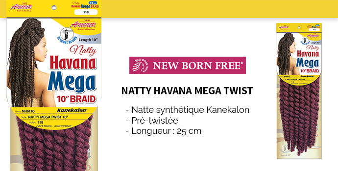 NEW BORN FREE havana mega TWIST