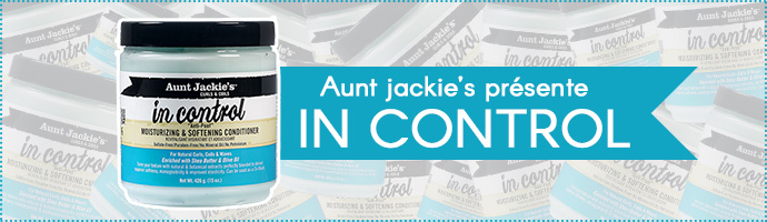 AUNT JACKIE'S, in control