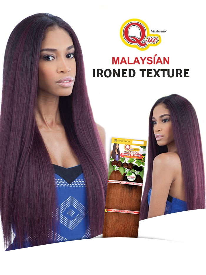 MILKIWAY QUE TISSAGE IRONED TEXTURE NATURAL STRAIGHT