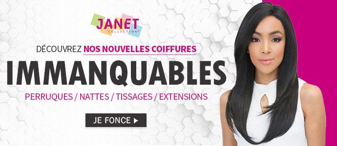 Nouvelles coiffures JANET Collection Juin 2018