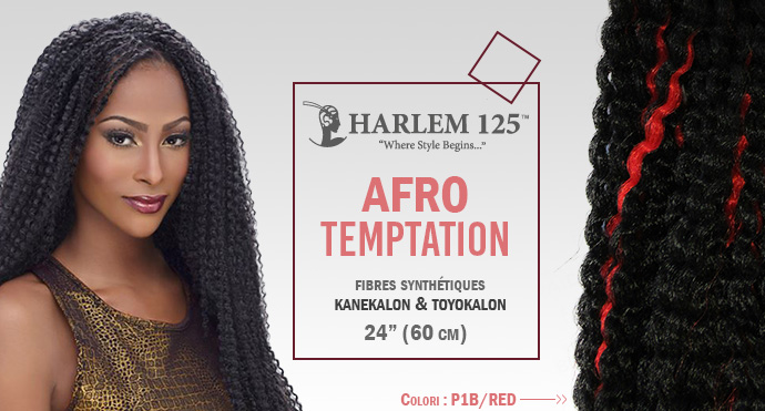 HARLEM 125, KIMA BRAID AFRO TEMPTATION