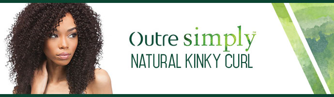 OUTRE SIMPLY BRAZILIAN NATURAL KINKY CURL