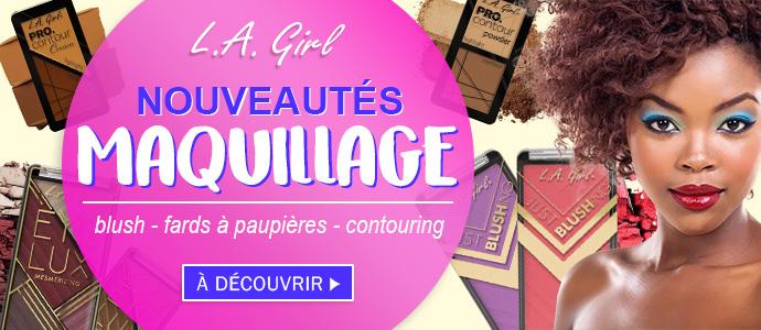 Nouveautés maquillage LA GIRL Mai 2018 >>>>