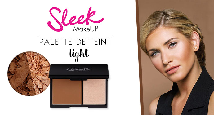 SLEEK MAKEUP PALETTE TEINT FACE CONTOUR KIT LIGHT