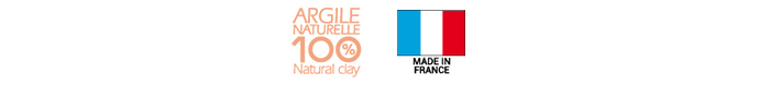 Argile 100% naturelle et Made in france