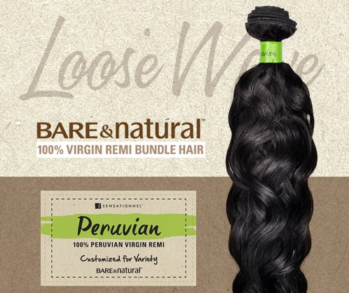 Tissage péruvien Loose Wave