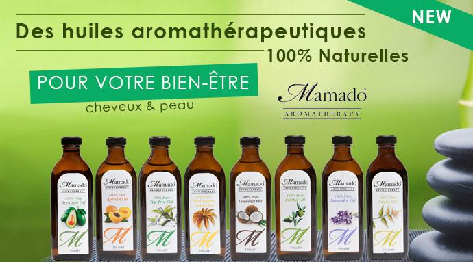 MAMADO, huiles naturelles