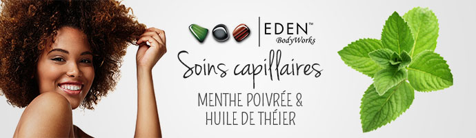 EDEN BODYWORKS PEPPERMINT TEA TREE - SUPERBEAUTE.fr
